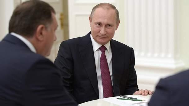 Путін підтримує мілітаризацію у Боснії та Герцеговині