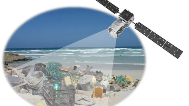 Тестування виявлення сміття з космосу