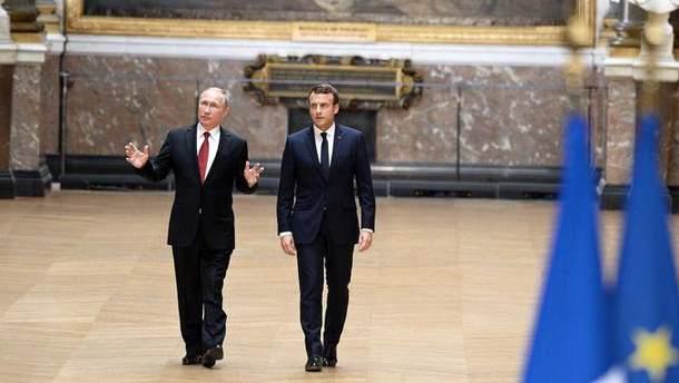 У Путина уверяют, что его поздравил Макрон: у президента Франции обнародовали другие детали