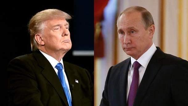 Трамп не вітатиме Путіна з перемогою на виборах президента Росії