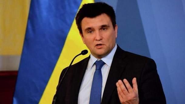 Клімкін запропонував посилити тиск на Росію
