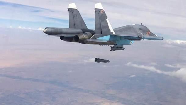 Российская авиация может быть причастна к бомбардировке школы в Сирии