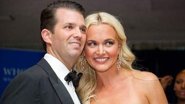 Трамп-младший разводится с женой из-за измен