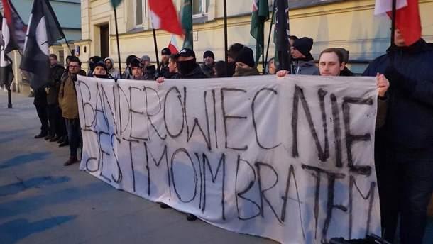 В Польше прошла антиукраинская акция