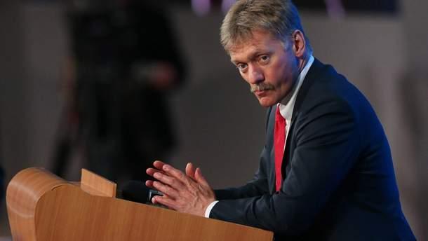Песков прокомментировал отсутствие поздравлений от Трампа с победой Путина на выборах президента