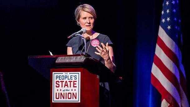Синтія Ніксон побореться за посаду губернатора Нью-Йорка