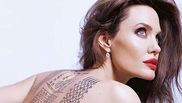 Анджелина Джоли снялась в рекламе французского бренда: фото