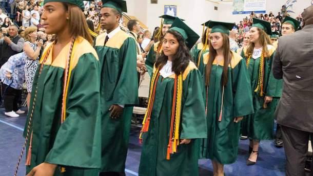 Ученики школы в штате Мэриленд