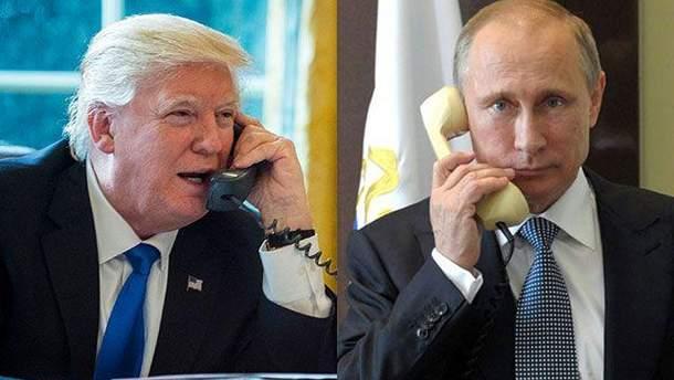 Путин поговорил с Трампом об Украине