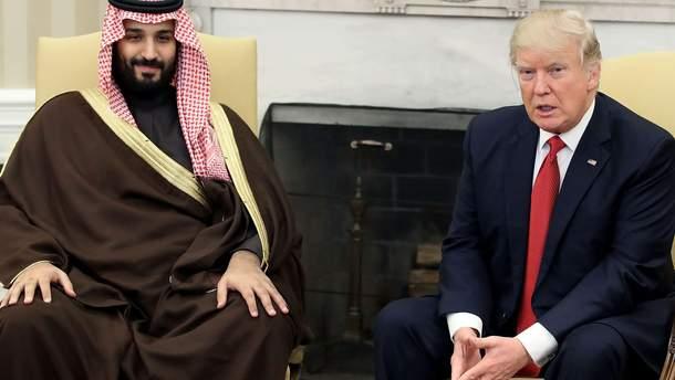 """На встрече с принцем Саудовской Аравии Трамп обсудит пути """"наказания"""" России за Сирию"""