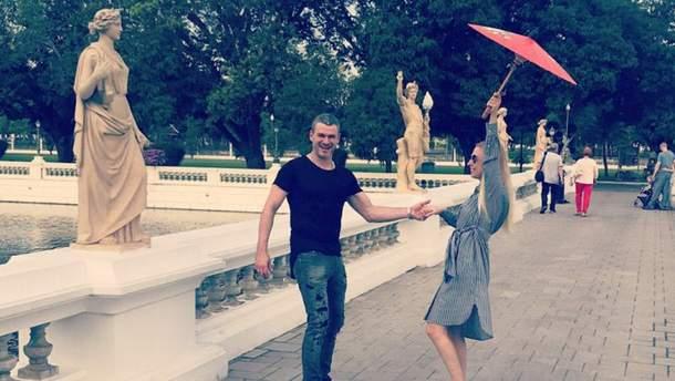 Арсен Мирзоян и Тоня Матвиенко устроили медовый месяц