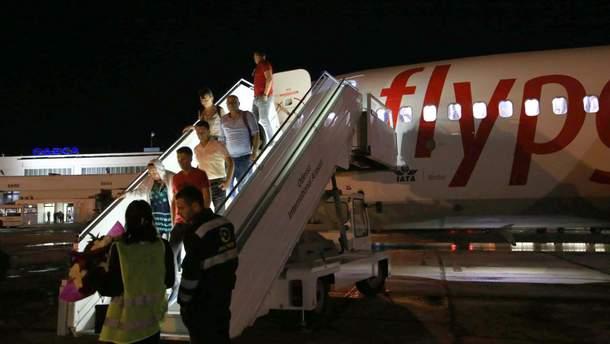 В самолете в Одессе произошла драка