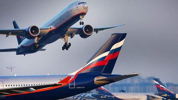 Російські авіакомпанії здійснюють рейси до окупованого Криму
