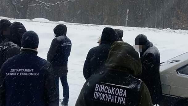 Задержание чиновников в нескольких городах Украины