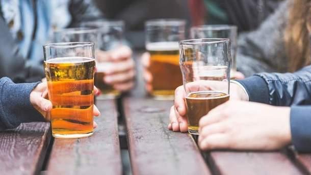 Злоупотребление алкоголем влияет на здоровье сердца