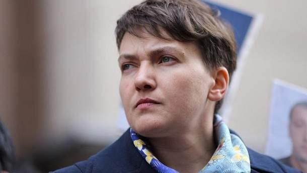 Савченко просит Верховный суд отменить решение Совета об исключении ее из парламентского комитета