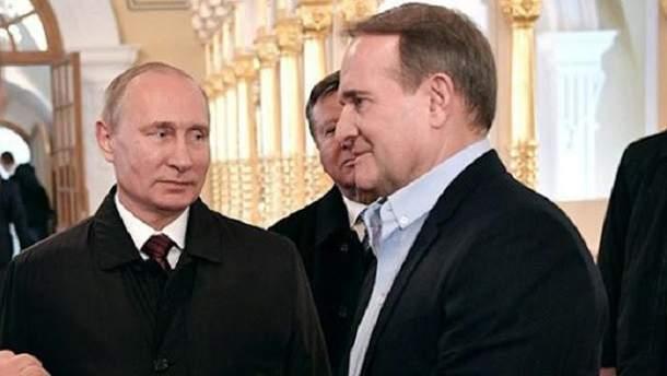 Порошенко не доволен тем, что говорит Медведчук Путину?