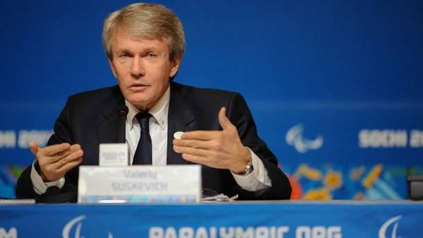 Президент Паралимпийского комитета Украины Валерий Сушкевич