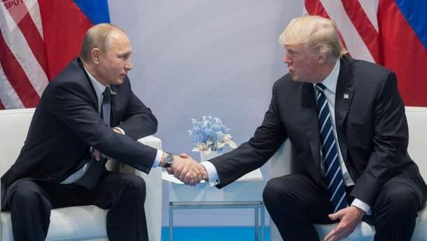 """Трамп назвал """"хорошим делом"""" нахождение общего языка с Российской Федерацией."""