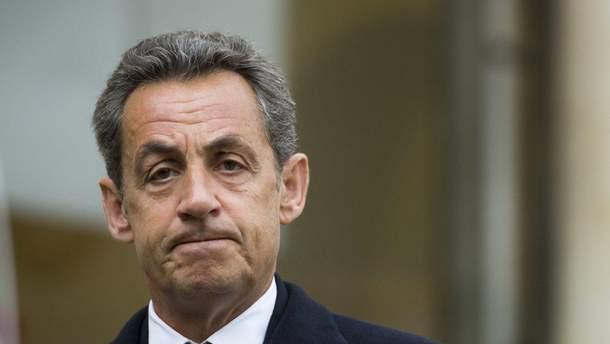 Саркозі вийшов на волю після допиту, що тривав більше доби