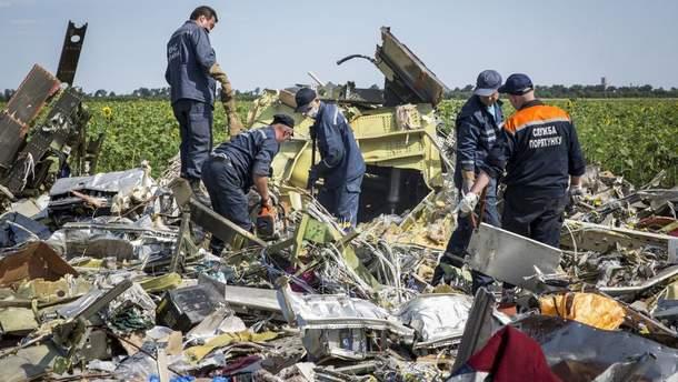 Катастрофа Boeing 777 на Донбассе