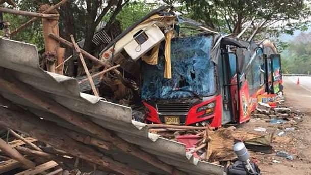 Аварія в Таїланді