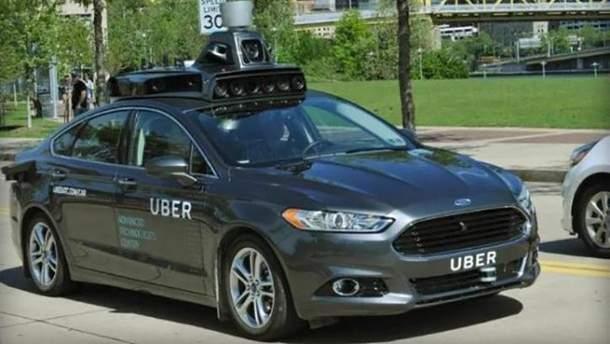 Авто Uber (ілюстрація)