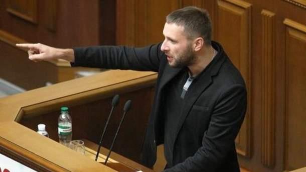 Парасюк прорвався до Верховної Ради, не пройшовши огляд на наявність зброї