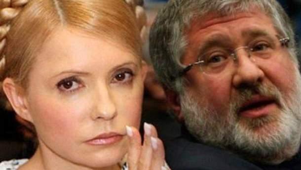 Тимошенко полетіла в Ізраїль на зустріч з олігархом  Коломойським