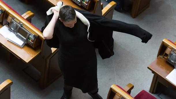 Надежда Савченко в Верховной Раде