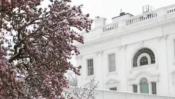 Иванка Трамп показала двор Белого дома
