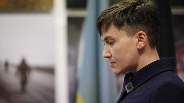 Надежду Савченко задержали 22 марта 2018 года в Раде