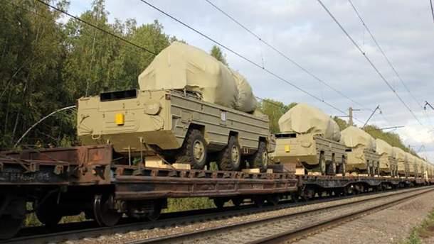Російська військова техніка (ілюстрація)