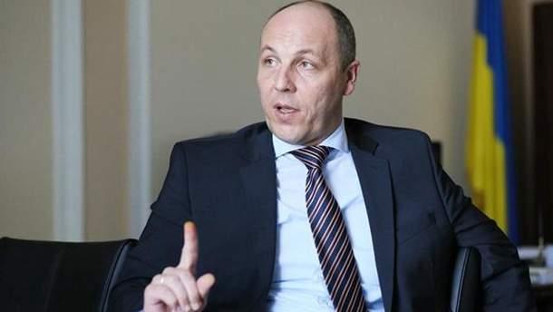 До Верховної Ради не пускатимуть депутатів, які відмовилися пройти металошукач, заявив Парубій