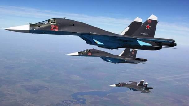 Російська авіація (ілюстрація)