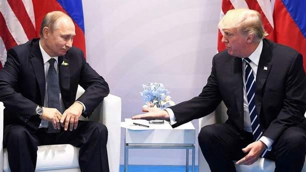 Предложение Трампа встретиться с Путиным стала неожиданностью для советников главы Белого дома