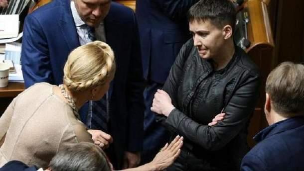 Бьют по Савченко – целятся в Тимошенко?