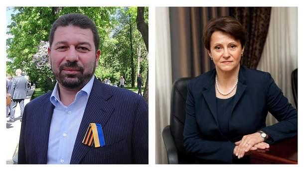 Євген Гєллєр і Ніна Южаніна