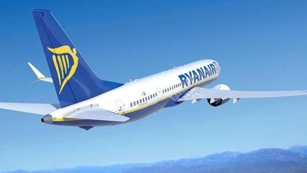Ryanair розпочне виконувати рейси з України у жовтні 2018 року