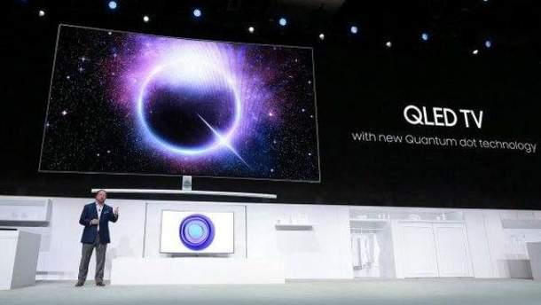 Презентація QLED 2018 від Samsung