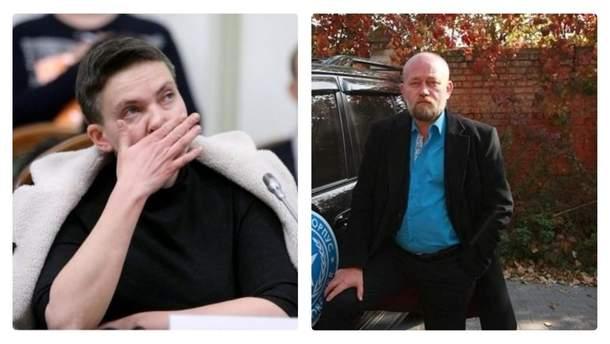 Надія Савченко та Володимир Рубан