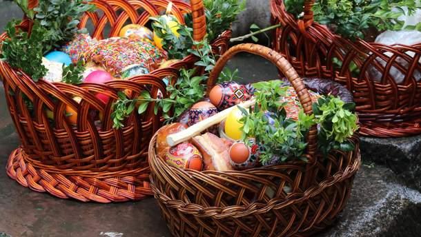 Самые дорогие и самые дешевые пасхальные корзины в Украине