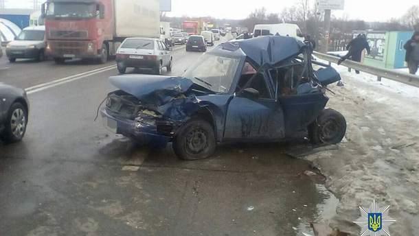 Аварія в Харкові