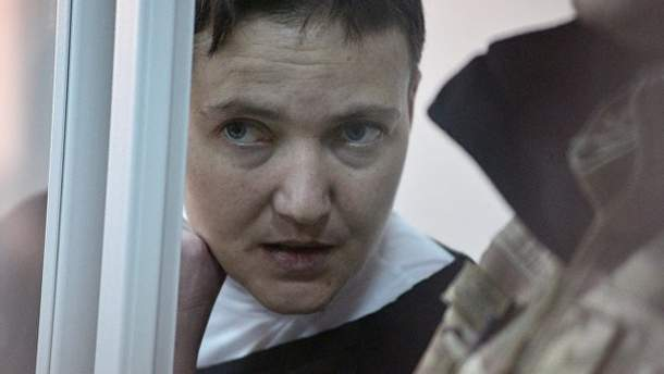 Савченко грубо обматерила прокурора в суде