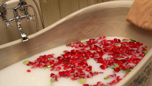 Приймання ванни: корисні властивості