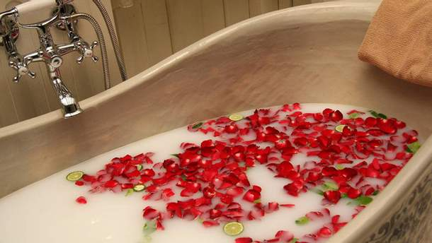 Прием ванны: полезные свойства