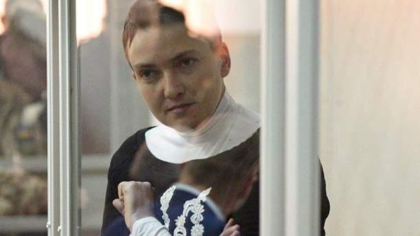 Савченко знову звернулась до Путіна