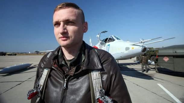 Льотчик Владислав Волошин