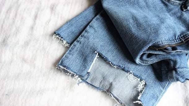 Рваные джинсы как сделать фото 851