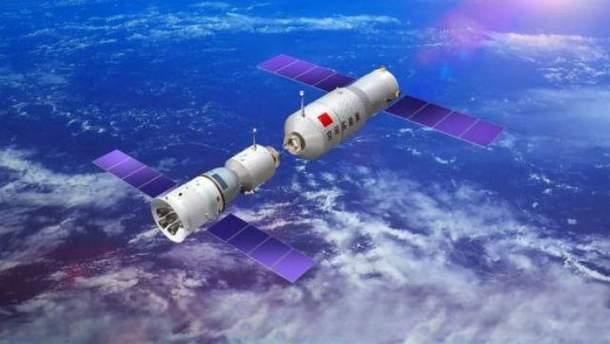 """Китайская станция """"Тяньгун-1"""" падает на Землю"""